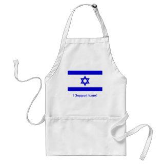 I Support Israel Adult Apron