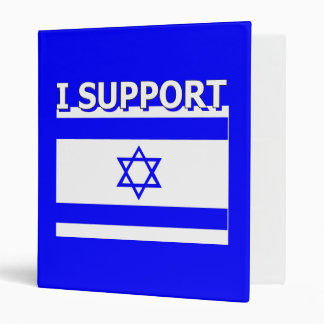 I Support Israel Binder