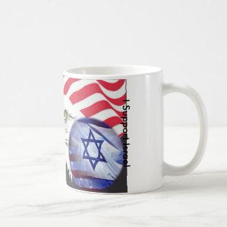 I Support Israel Classic White Coffee Mug