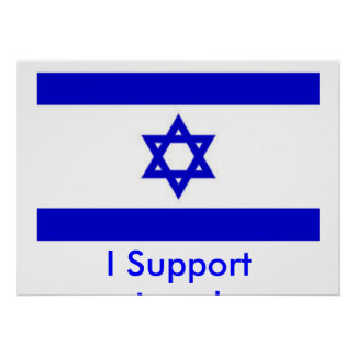 I Support Israel Poster