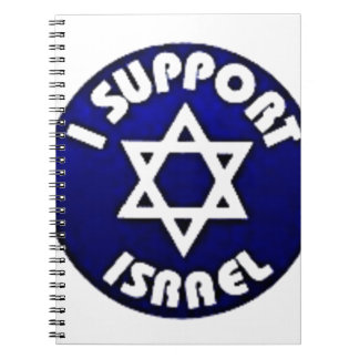 I Support Israel - Star of David מגן דוד Notebook