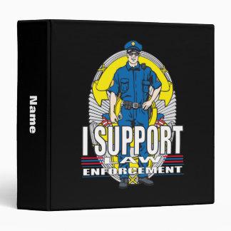 I Support Law Enforcement Binder