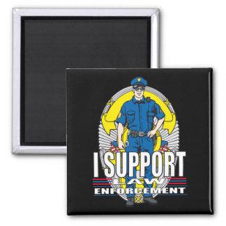 I Support Law Enforcement Magnet