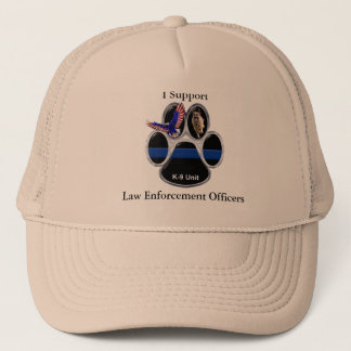 I Support Law Enforcement Officers Hat