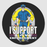 I Support Law Enforcement Stickers