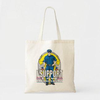 I Support Law Enforcement Tote Bag