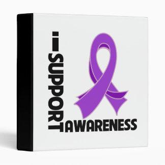 I Support Leiomyosarcoma Awareness 3 Ring Binders