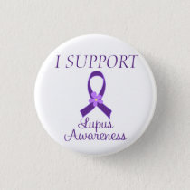 I SUPPORT Lupus Awareness Button