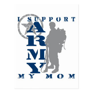 I Support Mom 2 - ARMY Postcard