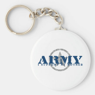 I Support Mother - ARMY Keychain