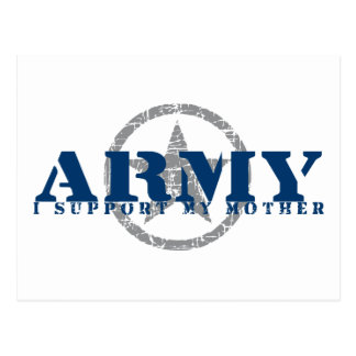 I Support Mother - ARMY Postcard