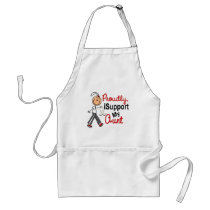 I Support My Aunt SFT (Bone / Lung Cancer) Adult Apron