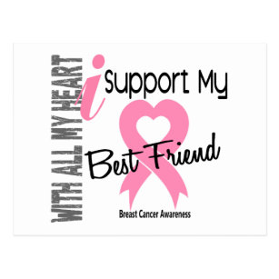 Breast Cancer Support My Friend Cards - Greeting & Photo ...