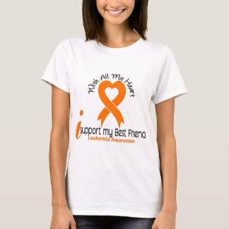 I Support My Best Friend Leukemia T-Shirt