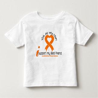 I Support My Best Friend Leukemia Toddler T-shirt