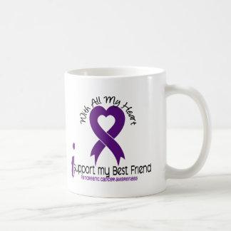 I Support My Best Friend Pancreatic Cancer Coffee Mug