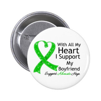 I Support My Boyfriend With All My Heart Pinback Button