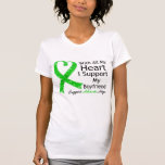 I Support My Boyfriend With All My Heart T-Shirt