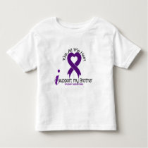 I Support My Brother Epilepsy Toddler T-shirt