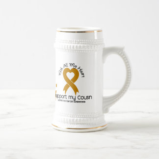 I Support My Cousin Appendix Cancer Coffee Mug