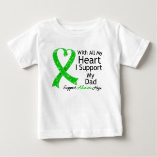 I Support My Dad With All My Heart Tshirt