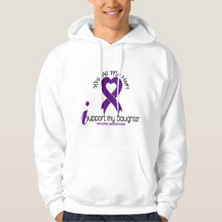 I Support My Daughter Epilepsy Pullover