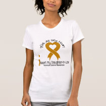 I Support My Daughter-In-Law Appendix Cancer T-Shirt