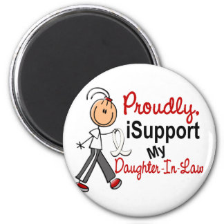 I Support My Daughter-In-Law SFT Bone/Lung Cancer Fridge Magnets