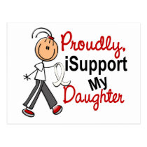 I Support My Daughter SFT (Bone / Lung Cancer) Postcard