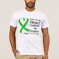 I Support My Daughter With All My Heart T-Shirt