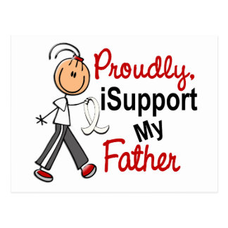 I Support My Father SFT (Bone / Lung Cancer)FATHER Postcard