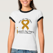 I Support My Friend Appendix Cancer T-Shirt