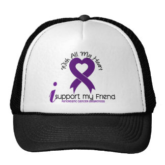 I Support My Friend Pancreatic Cancer Trucker Hat