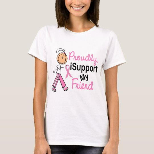 I Support My Friend SFT Breast Cancer T-Shirts & G