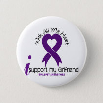 I Support My Girlfriend Epilepsy Button