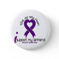 I Support My Girlfriend Epilepsy Button