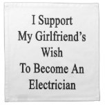 I Support My Girlfriend's Wish To Become An Electr Napkin