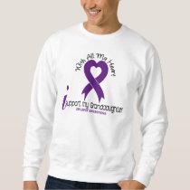 I Support My Granddaughter Epilepsy Sweatshirt