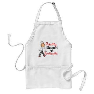 I Support My Granddaughter SFT (Bone / Lung Cancer Adult Apron