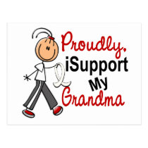 I Support My Grandma SFT (Bone / Lung Cancer) Postcard