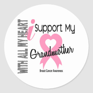 I Support My Grandmother Breast Cancer Sticker
