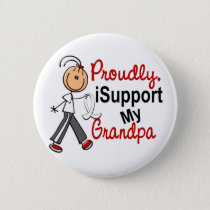 I Support My Grandpa SFT (Bone / Lung Cancer) Pinback Button
