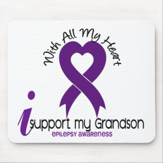 I Support My Grandson Epilepsy Mouse Pad