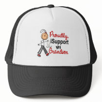 I Support My Grandson SFT (Bone / Lung Cancer) Trucker Hat