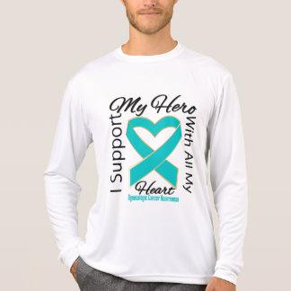 I Support My Hero - Gynecologic Cancer Awareness Shirts