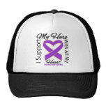 I Support My Hero - Pancreatic Cancer Awareness Trucker Hats