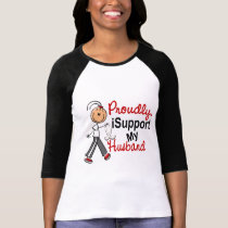 I Support My Husband SFT (Bone / Lung Cancer) T-Shirt