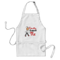 I Support My ME SFT (Bone / Lung Cancer)ME Adult Apron