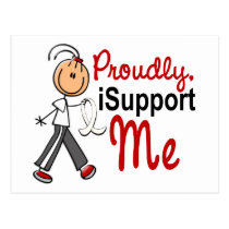 I Support My ME SFT (Bone / Lung Cancer)ME Postcard