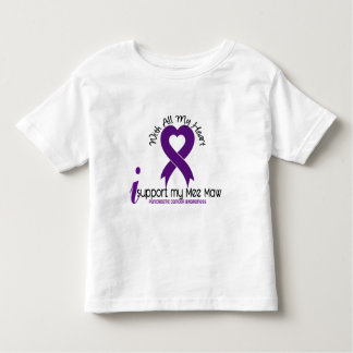 I Support My Mee Maw Pancreatic Cancer Toddler T-shirt